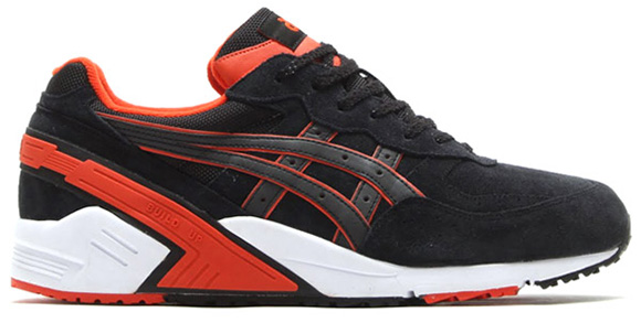 newest collection a7d68 f15f8 Asics Gel Sight Black / Orange   SneakerFiles
