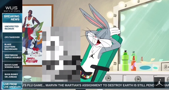 Bugs Bunny Talks Air Jordan 30 Ahmad Rashad