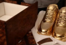 Clot Nike Lunar Force 1 Gold
