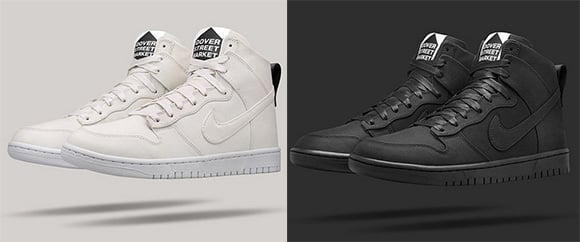 online store 23627 2331c Dover Street Market x Nike Dunk High Lux chic