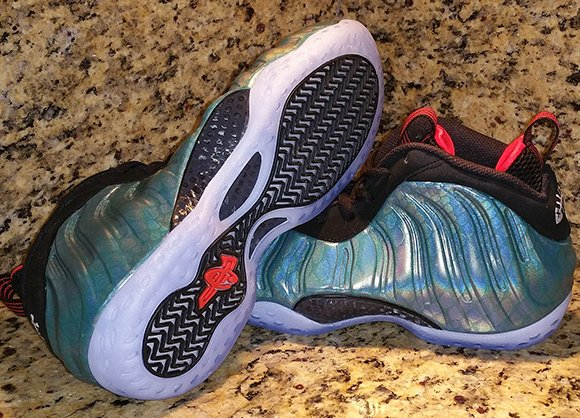 Gone Fishing Nike Air Foamposite One