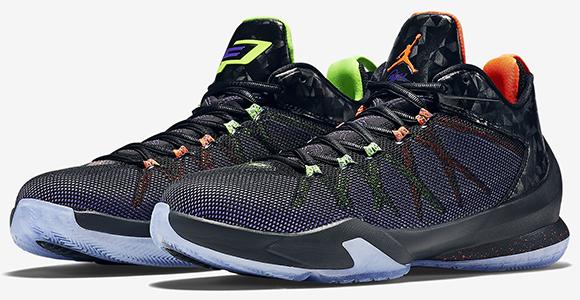 Jordan NIKE AIR JORDAN CP3.VII VENOM GREEN Green Sneakers