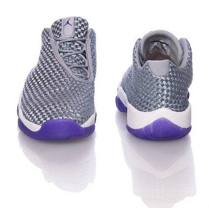 Jordan Future Low GS Wolf Grey Purple