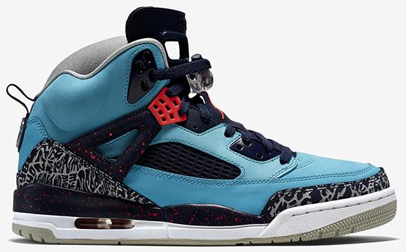 Jordan Spizike Turquoise Blue Infrared 23