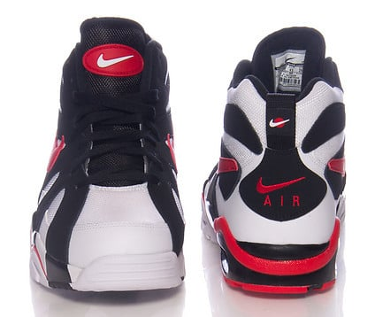 Nike Air Diamond Furry 96 White Red Black