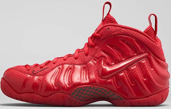 Nike Air Foamposite Pro Gym Red Release Info