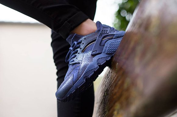 Nike Air Huarache Womens Blue Legend