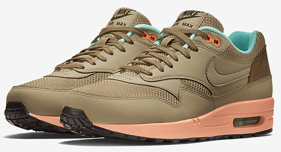 a39e55dc99dc durable modeling Nike Air Max 1 FB Hay Sunset Glow Artisan Teal ...
