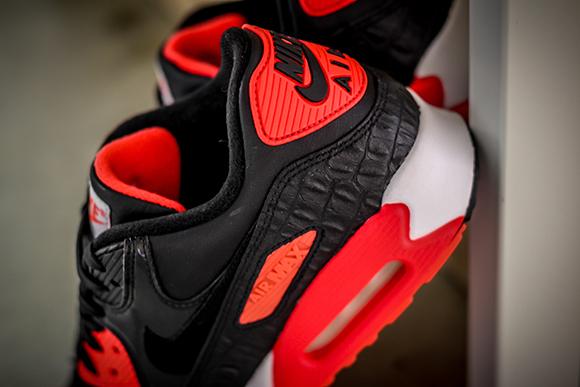 Nike Air Max 90 Infrared Croc
