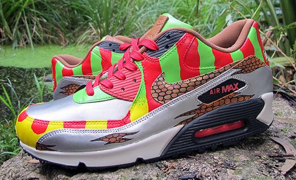Nike Air Max 90 Jurassic Park Custom Sekure D