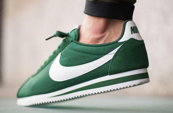 Nike Cortez Nylon Gorge Green
