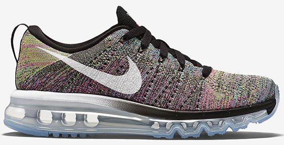 nike flyknit air max womens grey