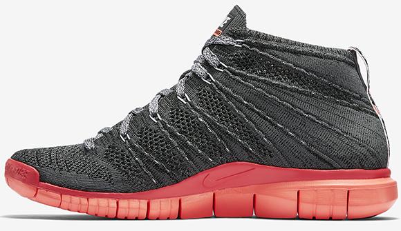 Nike Free Flyknit Chukka 'Hot Lava