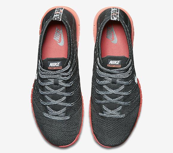 Nike Free Flyknit Chukka Hot Lava