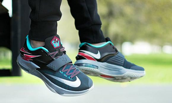 pretty nice 4aa88 205fb Nike KD 7 Flight On Foot