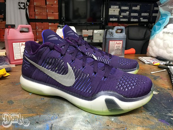 Nike Kobe 10 Elite Low Team Custom