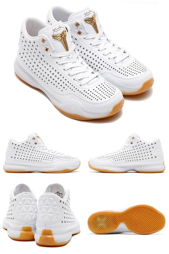 official photos da5bc 1b5cc hot sale 2017 Nike Kobe 10 EXT White Gum Detailed Look