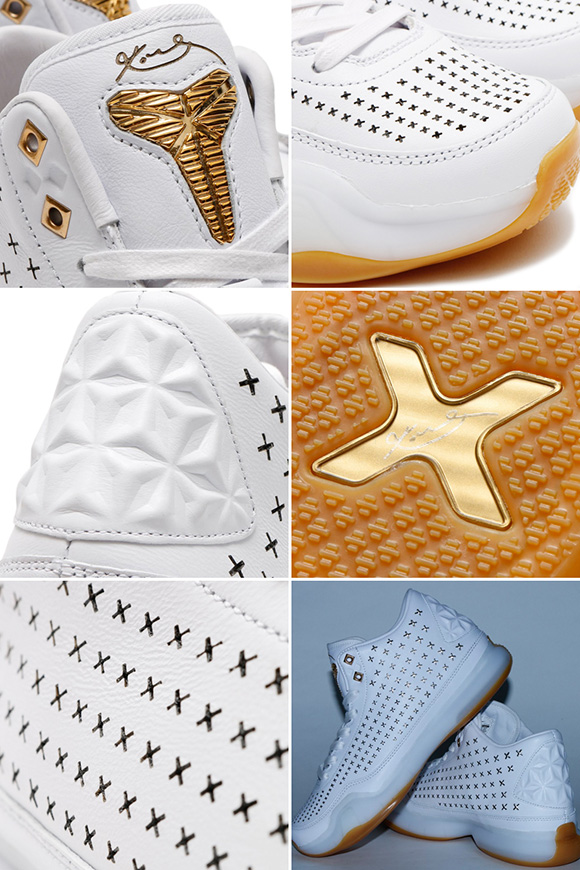 Nike Kobe 10 EXT White Gum Detailed Look