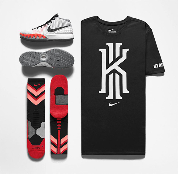 Nike Kyrie 1 Home Infrared Release Info