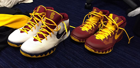 sports shoes 1425f 22bbc Nike Kyrie 1 Playoff PE Set
