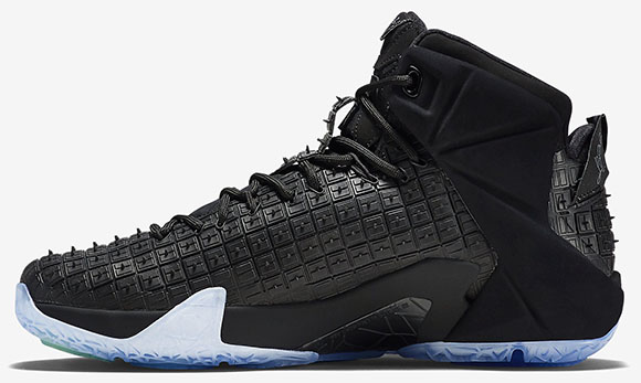 Nike LeBron 12 EXT Rubber City Black Release Date
