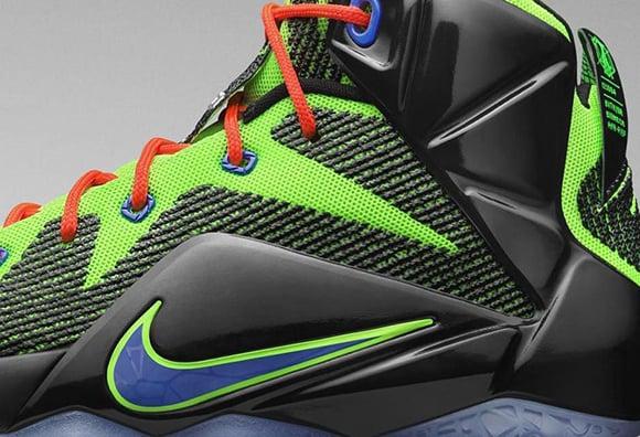 Nike LeBron 12 GS Video Game Xbox
