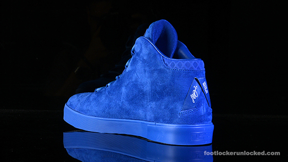 Nike LeBron 12 NSW Lifestyle 'Blue Suede' | SneakerFiles