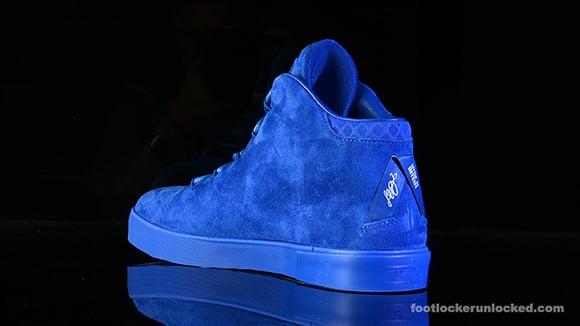 Nike LeBron 12 NSW Lifestyle  Blue Suede   10ff2c3e26
