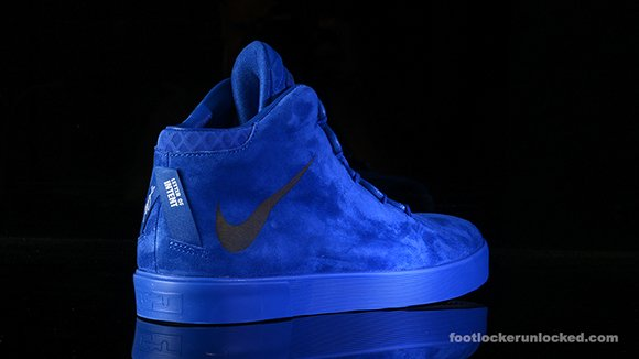 Nike LeBron 12 NSW Lifestyle Blue Suede