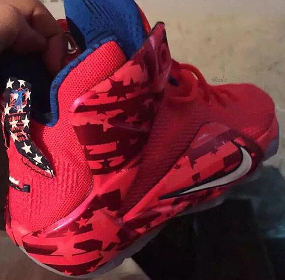 Nike LeBron 12 USA