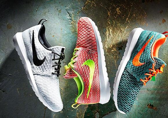 Nike Roshe Run NM Flyknit Wolf Grey