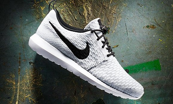 Nike Roshe Run NM Flyknit Wolf Grey