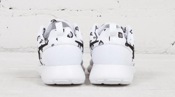 Nike Roshe Tirada De Impresión De Leopardo Tela Blanca Guepardo F4Hwwfqua