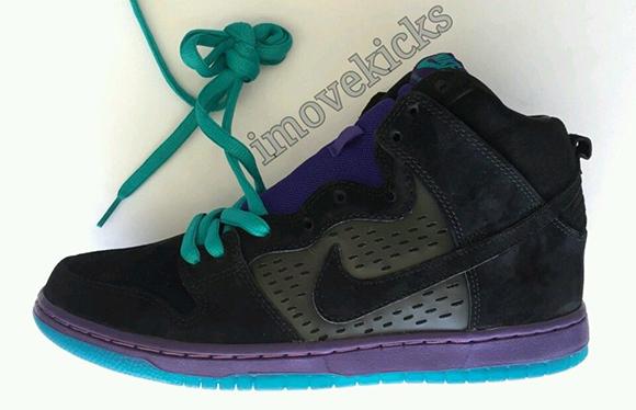 Nike SB Dunk High Black Grape