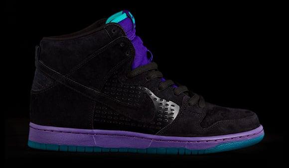 Nike SB Dunk High Grape