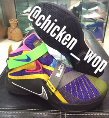 Nike Zoom Soldier 9 What The
