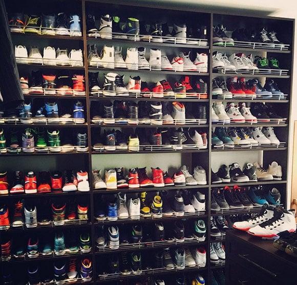 Ray Allen Shares His Sneaker Room