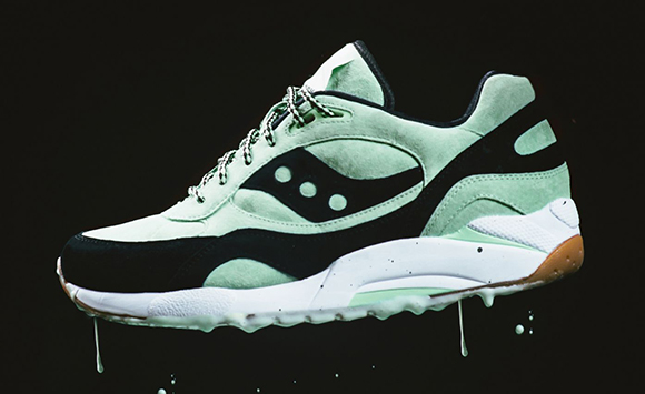 Saucony G9 Shadow 6 Mint Chocolate Chip