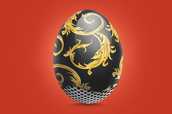 Sneaker Inspired Easter Eggs