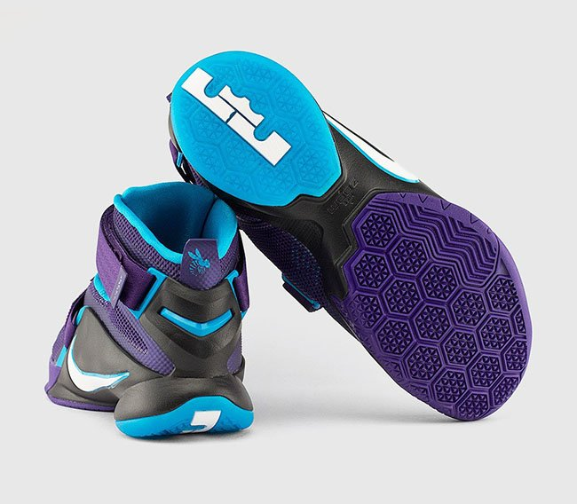 Nike Zoom LeBron Soldier 9 Summit Lake Hornets