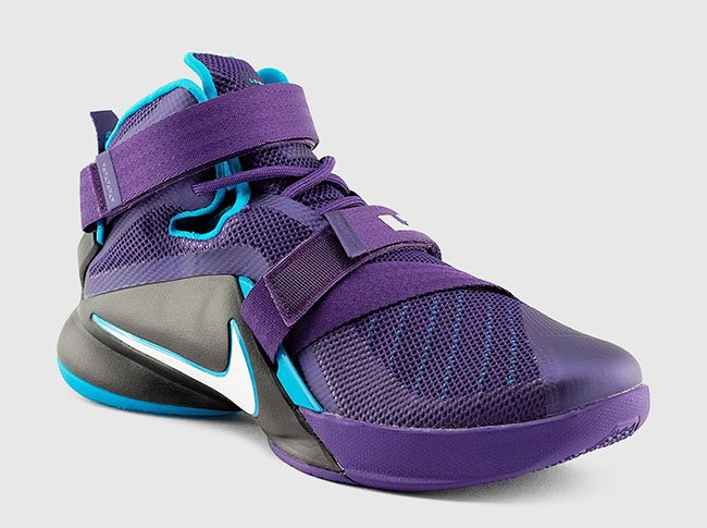 12563fdf1aab Nike Zoom LeBron Soldier 9 Summit Lake Hornets
