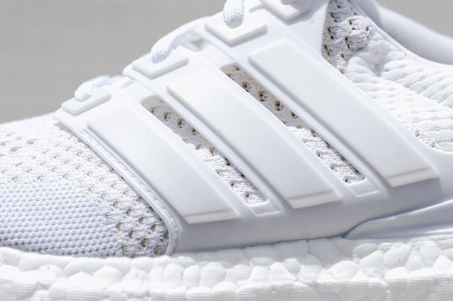 adidas Ultra Boost White Detailed