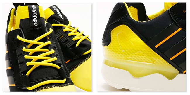 adidas ZX 8000 Boost Bright Yellow
