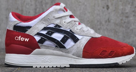 innovative design de9e5 09f26 Afew x Asics Gel Lyte III 25th Anniversary 'Koi Klub ...