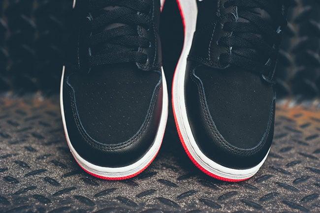 Air Jordan 1 High Girls Black Hot Lava