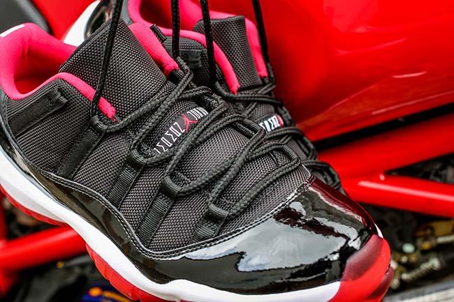 Air Jordan 11 Low Bred Releasing