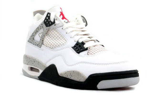 Air Jordan 4 Retro 89 White Cement Releasing 2016
