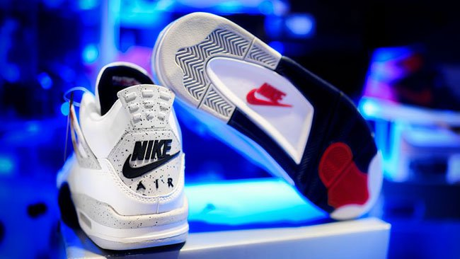 Air Jordan 4 Retro 89 White Cement Release 2016