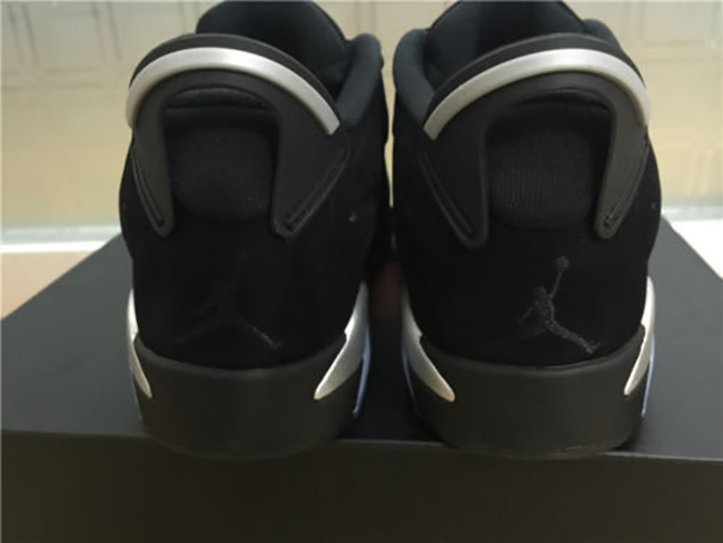 Air Jordan 6 Low Black Chrome Retro 2015