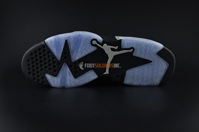 Air Jordan 6 Low Black Chrome Detailed Look